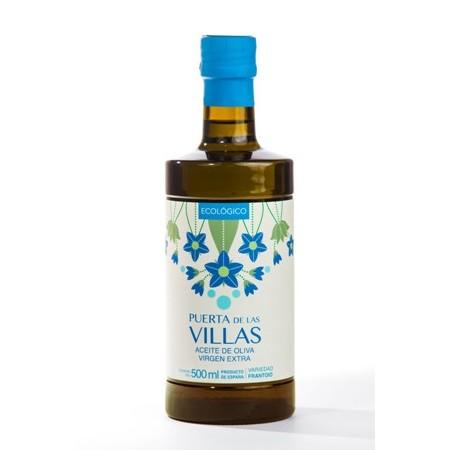 Caja 12 botellas 500 ml (Frantoio Virgen Extra Ecológico)