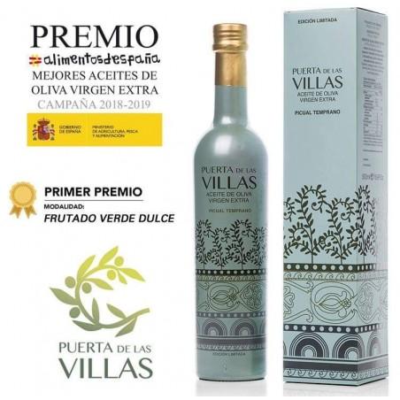 Edición Limitada. Caja 6 botellas AOVE Temprano 500 ml. Alta Gama