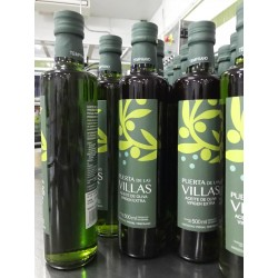 Box with 12 glass Bottles 500 ml. (Early Extra Virgin Olive Oil)