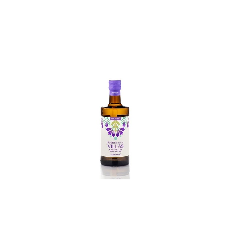 Caja 12 botellas 500 ml modelo ARGOS (Virgen Extra Temprano Ecológico)
