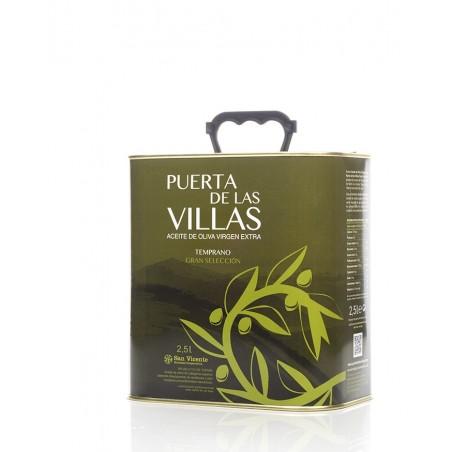 Caja 6 Latas 2'5 litros (Virgen Extra Temprano)