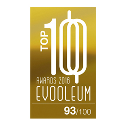 2016 EVOOLEUM TOP 100 Guide Score: 93.