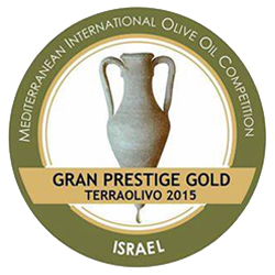 2015. TERRAOLIVO (Jerusalem-Israel). Gran Prestige Gold