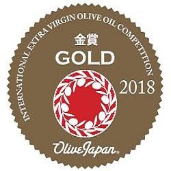 2018. Concurso Internacional de Aceite de Oliva Virgen Extra de Japón. Medalla de Oro.