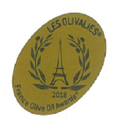 2018. OLIVALIES D'OR (Cannes – Francia). Intense Green Fruity category.