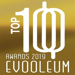 2019. EVOOLEUM Guide. World's TOP 100 Extra Virgin Olive Oils. Score: 83. Early Harvest Organic EVOO.